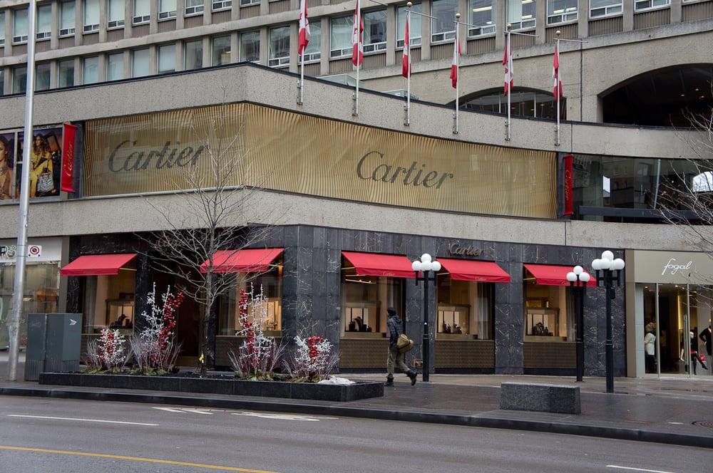 Cartier store Yorkville, Toronto