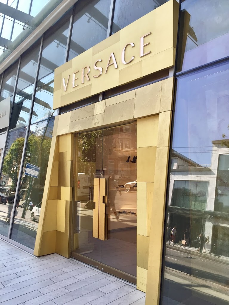 Versace Vancouver store by Google Maps Adam McKenchie